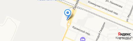 АкваМонтаж на карте Брянска