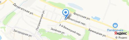 Люкс на карте Брянска