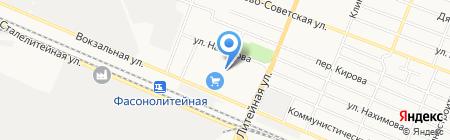 Мясной двор на карте Брянска