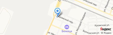 Мир картин на карте Брянска