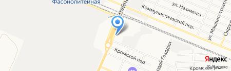 Мастер на карте Брянска