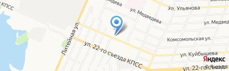 Бежицагражданстрой на карте Брянска