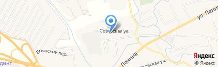 Супоневская средняя общеобразовательная школа №2 на карте Супонево