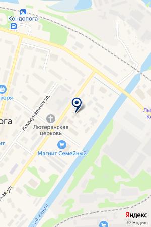 БАР ТЕЛЬ на карте Кондопоги
