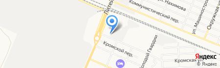 Сервис-табак-К на карте Брянска