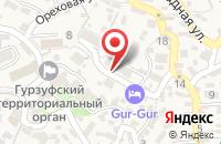 Схема проезда до компании РЕЗЬБА ПО ДЕРЕВУ НА СТАНКАХ С ЧПУ в Крыме