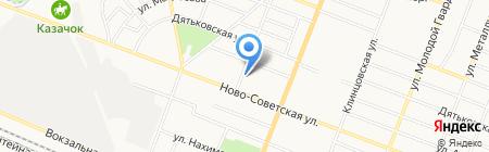 Ассоль на карте Брянска
