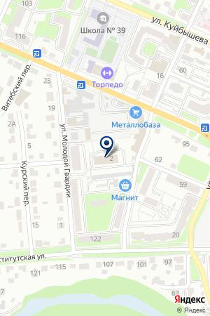 IT-КОМПАНИЯ START на карте Брянска