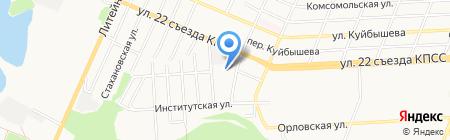 Start на карте Брянска