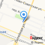 Троллейбусное депо №2 на карте Брянска