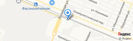 Магазин детской одежды на карте Брянска