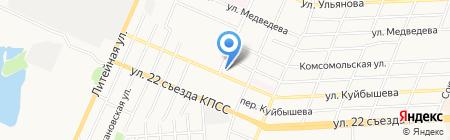 Дельта на карте Брянска