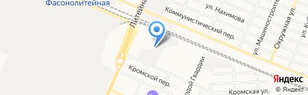 Альянс на карте Брянска