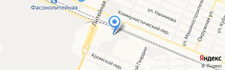 Русский текстиль на карте Брянска