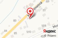 Схема проезда до компании Продуктовый магазин в Супонево