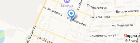 Центральная детская библиотека им. А.М. Горького на карте Брянска