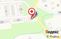Схема проезда до компании Сеть продуктовых магазинов в Супонево