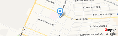 Агротес на карте Брянска