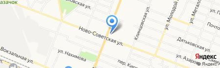Брянский Хлеб на карте Брянска