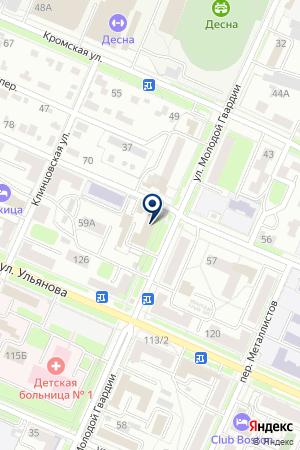 МИРОВОЙ СУДЬЯ на карте Брянска