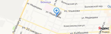 Фазис-Брянск на карте Брянска