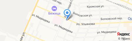 КПРФ на карте Брянска