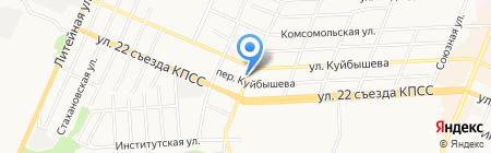 Автомагистраль32 на карте Брянска