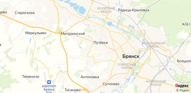 Кузьмино на карте