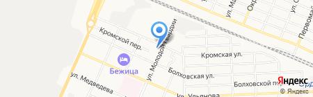 Газпром межрегионгаз Брянск на карте Брянска