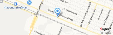 ГРАН-Щебень Лимитед на карте Брянска