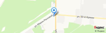 Бижутерия и аксессуары для волос на карте Брянска