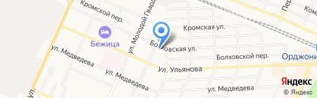 Детский сад №77 на карте Брянска