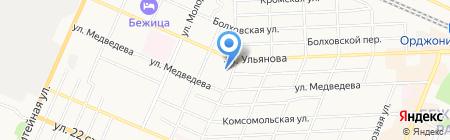БИНБАНК кредитные карты на карте Брянска