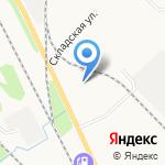 Империя колбас на карте Петрозаводска