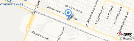 ВБК-Варяг на карте Брянска