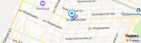 АвтоЗащита на карте Брянска