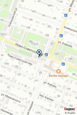ДОПОЛНИТЕЛЬНЫЙ ОФИС № 0123 БРЯНСКОЕ ОТДЕЛЕНИЕ № 8605 СБЕРБАНК РОССИИ на карте Брянска
