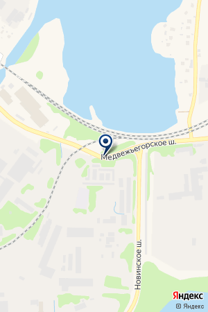 АСФАЛЬТОБЕТОННЫЙ ЗАВОД на карте Медвежьегорска