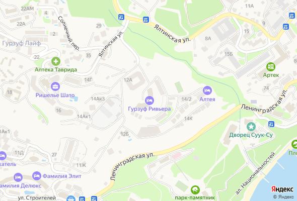 жилой комплекс Гурзуф Ривьера