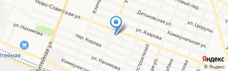 Графика на карте Брянска