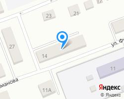 Схема местоположения почтового отделения 249444