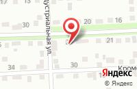 Схема проезда до компании Техстрой в Брянске