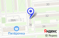 Схема проезда до компании НАРОДНАЯ АПТЕКА в Брянске