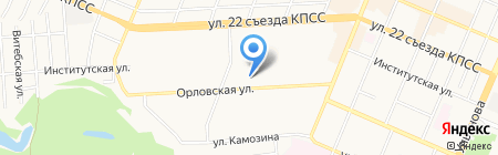 ПИКАР на карте Брянска