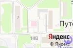 Схема проезда до компании Врачебная амбулатория в Путевке