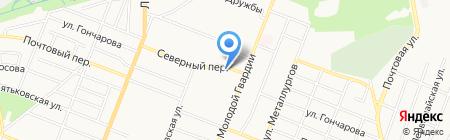 Киоск по продаже хлебобулочных изделий на карте Брянска