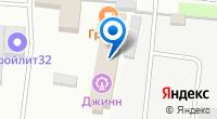 Компания Джинн на карте