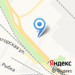 Лори на карте Петрозаводска