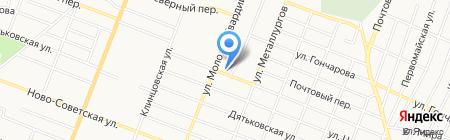 Среднерусский банк Сбербанка России на карте Брянска