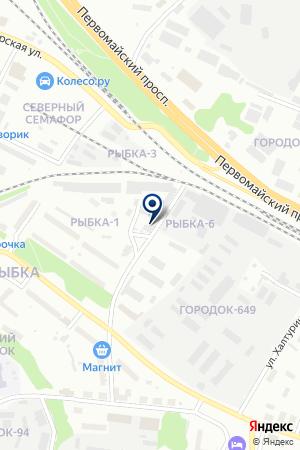 МАГАЗИН АВТОЗАПЧАСТЕЙ АДОНИС на карте Медвежьегорска